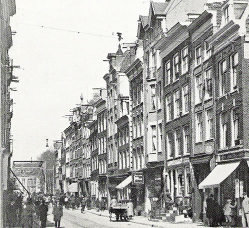 Weesperstraat, Amsterdam around 1930